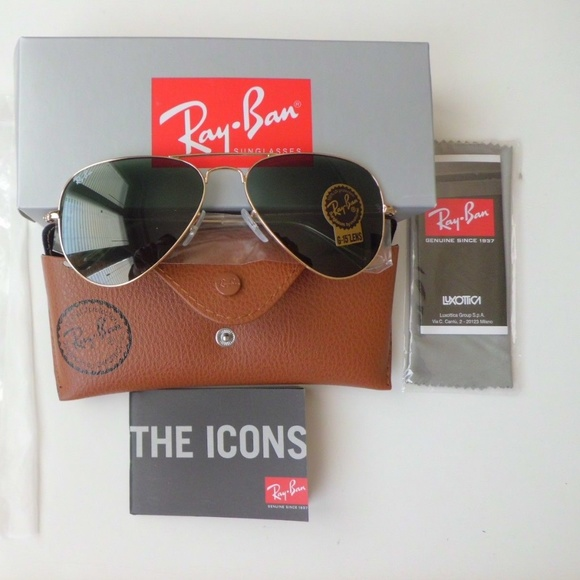 fbd99a908 Ray-Ban Accessories | Ray Ban Aviator Rb 3025 L0205 58 Goldgreen ...